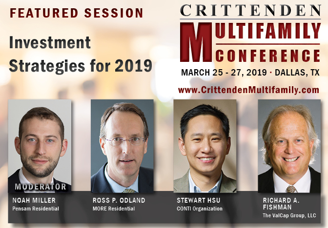 Richard Fishman speaks at Crittenden Multifamily Conference